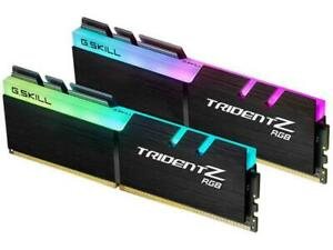 288-Pin SDRAM PC4-25600 DDR4 3200 CL16-18-18-38 1.35V Dual Channel Desktop Memory Model F4-3200C16D-32GIS 2 x 16GB G.Skill Aegis Series 32GB