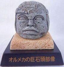 OLMECA COLOSSAL HEAD Figure /Collect Club /Mesoamerica, La Veranda ruins /NEW