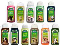 Johnsons Dog Shampoo 200ml-400ml or 5 litre..----Good Selection ----FREE POSTAGE