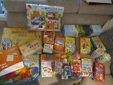 Brettspielesammlung für Kinder - 32 Spiele / Puzzle etc. teils NEU & OVP