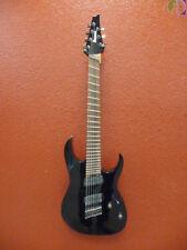 Ibanez RGMS7 Black, 7 String Guitar,
