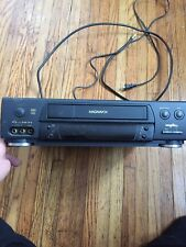 Philips Magnavox VHS Video Cassette Recorder  ( For Parts. Not Working!!!)