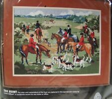 Dimensions Needlepoint Kit The Hunt #2332 Rare Brand New in Pkg