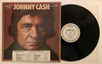 Johnny Cash - Greatest Hits Vol 3 - 1978 White Label Promo (NM) Ultrasonic Clean