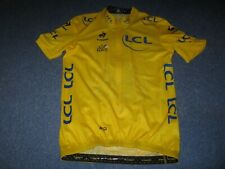 TOUR DE FRANCE 2014 LCS YELLOW LEADERS CYCLING JERSEY [L]. Unused