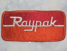 """Raypak Patch - Pool and Spa Company - vintage patch - 4 1/8"""" x 2"""""""