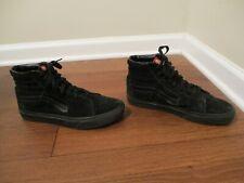 Used Worn Size 9 Vans OTW Sk8 Hi Skateboard Black