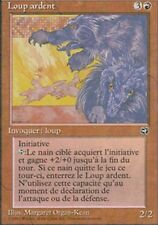MTG Magic - Terres Natales - Loup ardent  -  Rare VF