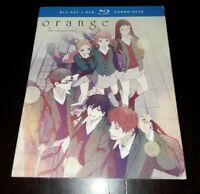 Orange: The Complete Series [Blu-ray] w/ Slipcover BRAND NEW Orange Anime