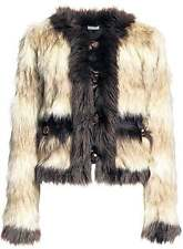 Lanvin x H&M faux-fur jacket new with tags UK12