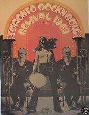 Toronto Rock 'N' Roll Revival 1969 Poster-The Doors, John Lennon, Alice Cooper
