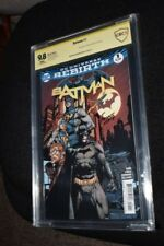 Batman #1 Rebirth CBCS SS 9.8 signed Artist David Finch 1st Print sold out! CGC