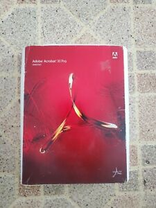 Adobe Acrobat XI Pro Windows New Open BoxDVD Single PC User License