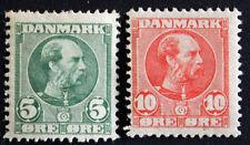 Francobollo DANIMARCA / Danimarca Stamp - Yvert e Tellier n°53 et 54 n (Cyn21)
