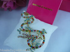 Brosche 🍀 Drachen 🍀 Multicolour Anstecknadel Dragon brooch BUTLER & WILSON
