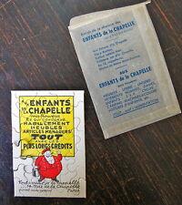 PUBLICITE ANCIENNE, PUZZLE, ENFANTS DE LA CHAPELLE, HABILLEMENT MEUBLES, PARIS