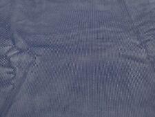 New listing Cotton Corduroy Fabric Pin Wale Slate Blue Apparel Sportswear By the Yard
