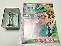 L'ENIGMISTA #16 DC COMICS SUPEREROI EAGLEMOSS COLLEZIONE OFFICIAL FIGURE RIDDLER