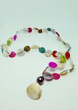 Véritable perle de TAHITI Montée en collier de Nacres