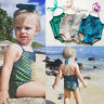 Baby Girl Kids Mermaid Bikini Swimwuit Swimwear Bathing Suit Costume Beachwear