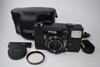 [READ] Konica C35 AF Film Camera 38mm f/2.8 Lens w/Cap Case Filter Strap #210202