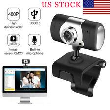 USB 2.0 HD Web Cam Camera Webcam with Microphone For Desktop Computer PC Laptop