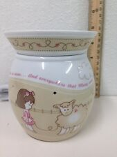 Mary Had a Little Lamb Scentsy Warmer Lamp