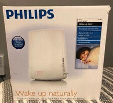 PHILIPS Wake-Up Light HF3480 Alarm Clock FM Radio Dawn Dusk Nature Sounds 3.E2