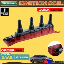 Power Ignition Coil Pack For Saab 9-3 9000 DOHC I4 2.0L 2.3L 1990-2000