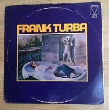 33 tours US Frank Turba unique album 1974 rock VG/EXC