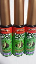 3 MASCARA AVOCADO SEED OIL FOR EYELASHES 0.45 OZ EACH (PACK OF 3) NEW