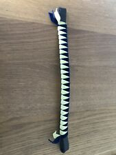 Browband Velvet - Yellow/ Navy, Showing, concours d'elegance FREE UK POSTAGE