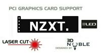 BLACK - LED Backlit NZXT - GPU Anti-Sagging Support Bracket/Brace GTX NVIDIA ROG