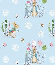 Peter Rabbit - Blue - Fabric Material