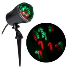 LOT OF 5 Multi-function Red/Green LED Multi-design Christmas Outdoor