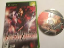 1 x BOXED ORIGINAL PAL XBOX GAME VIDEOGAME SAMURAI WARRIORS By KOEi TESTED & GWO