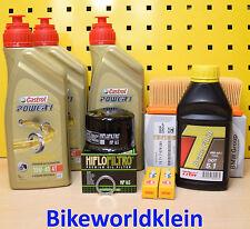 BMW F 800 GS alle 07-16 Öl Ölfilter Luftfilter Motoröl Castrol Zündkerzen