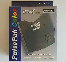 NEW Game boy Color Pulse Rumble Vibration Feedback Pak Pack W/External Speaker