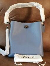 COACH Charlie Bucket Bag Style 55200 STONE BLUE/GUNMETAL ~NWT & GORGEOUS~