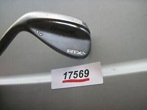 LH  Cleveland Golf RTX 4 BLACK  60° MID 9  DG S400 Stiff Flex Steel EXC   #17569