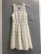 BB Dakota Ivory Lace Dress Lined Size 0 Excellent condition