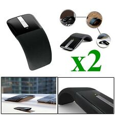 2x Arc Touch Wireless Home Office Optical Mouse Mice USB fr PC Microsoft Surface