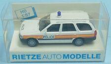 Rietze n. 50380 FORD ESCORT torneo polizia GB (' Police' ) - OVP