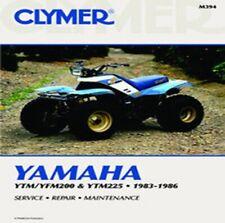 Clymer Repair Service Shop Manual Yamaha YFM200 85-86 YTM225 83-85 YTM200 M394