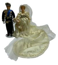 "EXTREMELY RARE"" HOUSE oF NISBET PRINCESS DIANA & PRINCE CHARLES WEDDING DOLL SET"