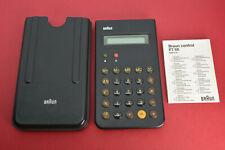 Vintage BRAUN Control ET 66 Type 4776 Taschenrechner, selten, rare