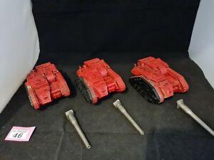 Warhammer Forgeworld Solar Auxilia artillery Battery X 3