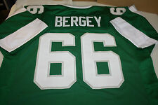 PHILADELPHIA EAGLES #66 BILL BERGEY CUSTOM JERSEY SIZE XXL SB XV