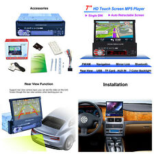 7'' Car MP5 Player HD Touch Screen FM/AUX/MP3 With GPS Navigation+8GB Map Card