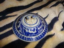 Chinese  porcelain Blue and white pattern LID